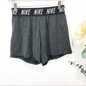Nike women's black athletic shorts Size XL